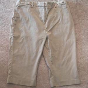 Capri Crop Pants Sz 16